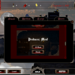 Dracula's Castle Build Menu