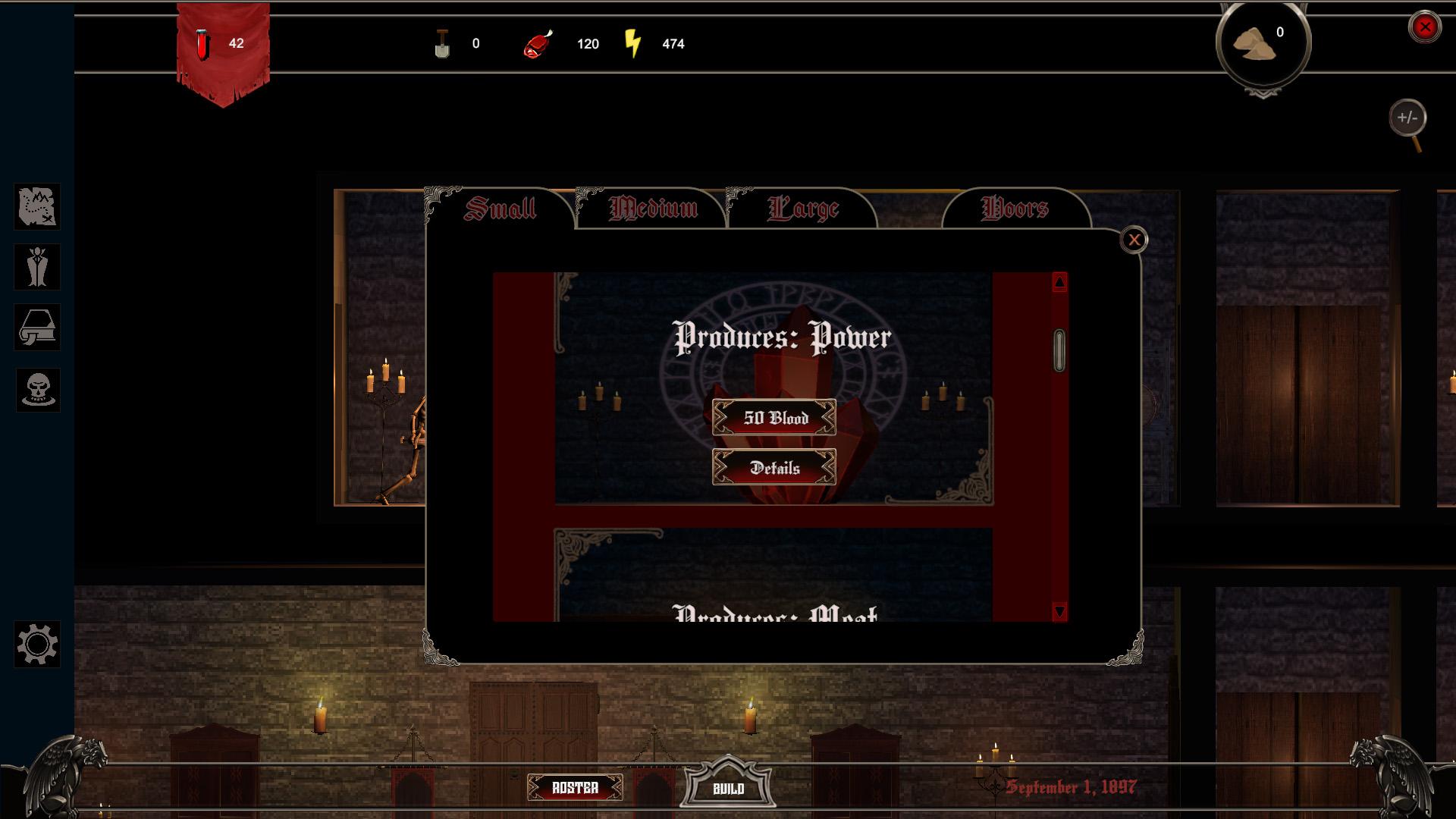 Dracula's Castle Build Screenshot