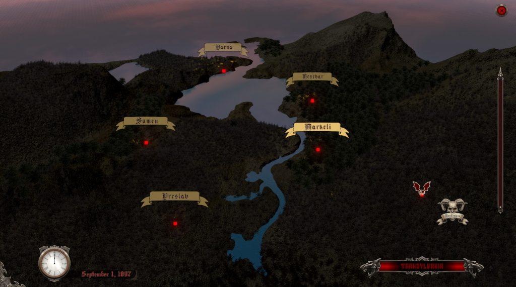 Vampire Polish - Map Before